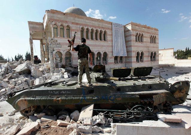 La ville syrienne d'Azaz