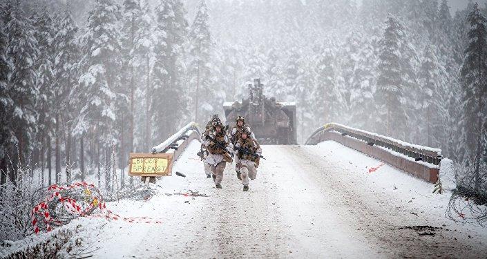 Exercices géants en Norvège: le matériel US sort de ses grottes
