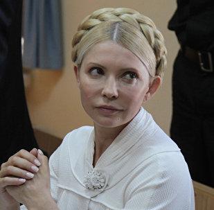 L'ex-premier ministre ukrainienne Ioulia Timochenko
