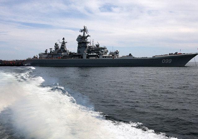 croiseur russe Piotr Veliki