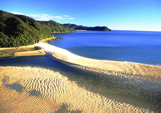 Awaroa Estuary Abel Tasman National Park Nelson