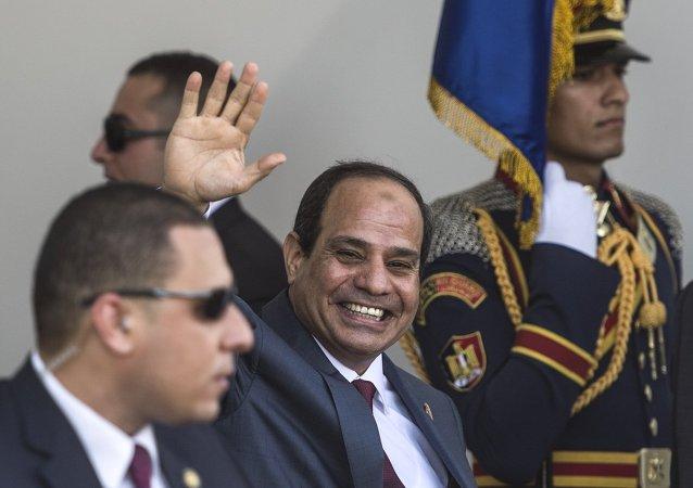 Président égyptien Abdel Fattah al-Sisi