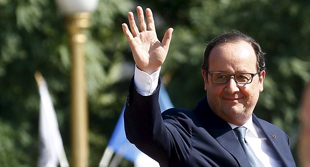 François Hollande en Argentine