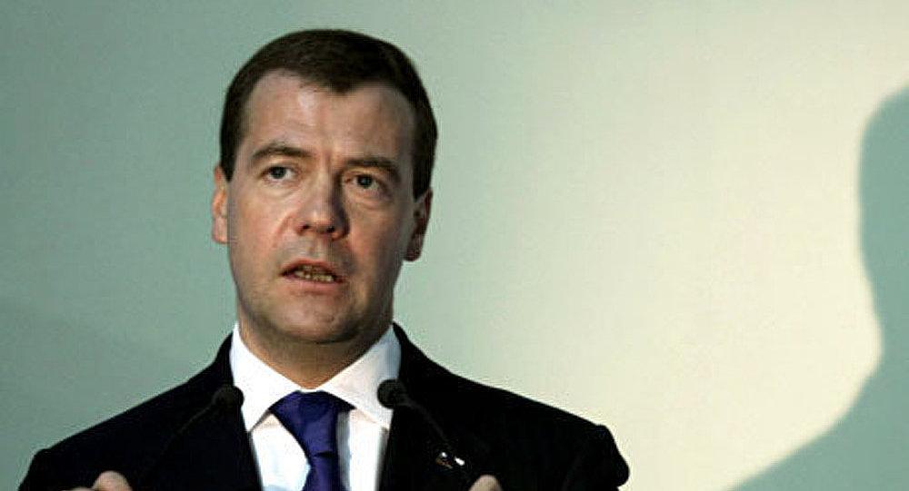 La visite officielle de Dmitri Medvedev à Kiev