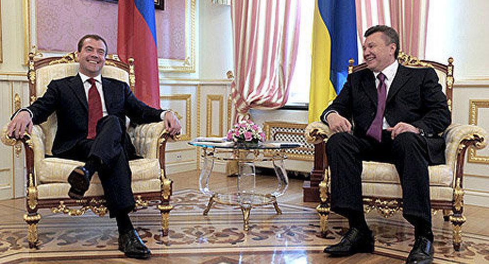 La déclaration conjointe des présidents russe et ukrainien Dmitri Medvedev et Viktor Ianoukovitch