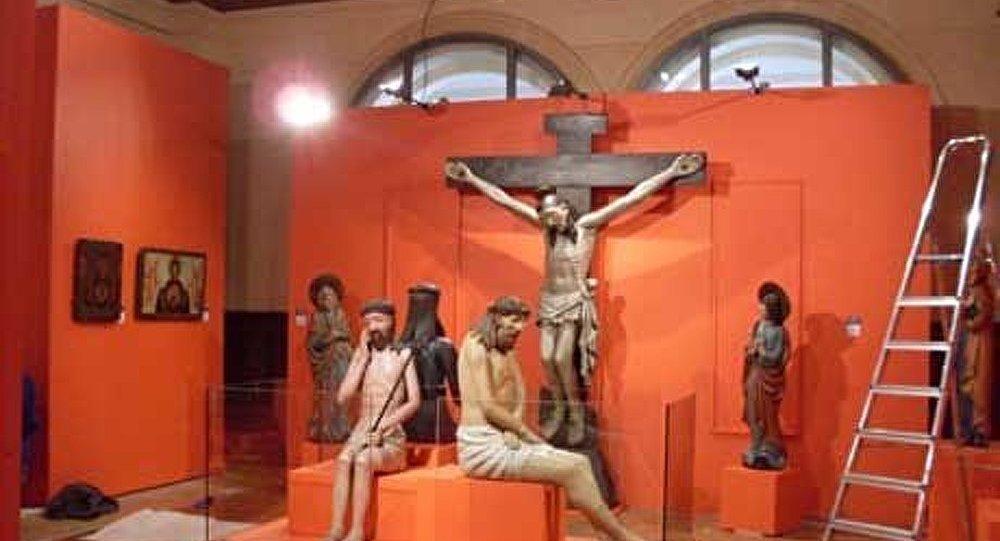 L'exposition d'œuvres de la collection de la galerie d'art de Perm (Oural) s'est ouverte à Lyon