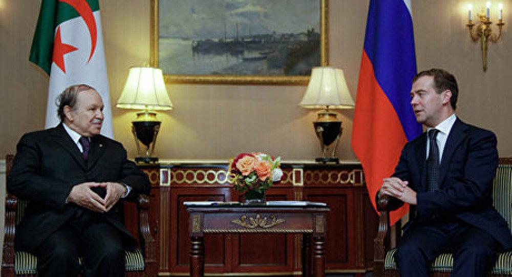 La visite du président Medvedev en Algérie