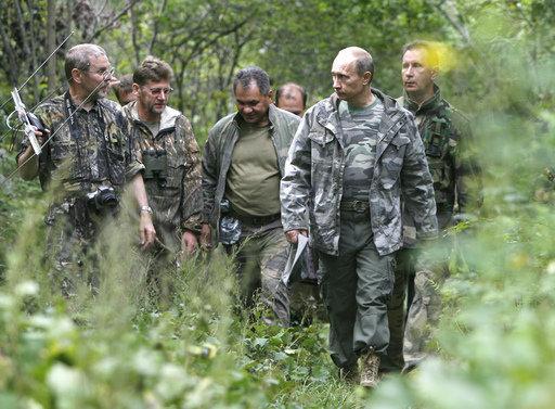 M. Poutine, défenseur affiché du tigre, s'est rendu mardi dans l'ancienne capitale impériale russe.