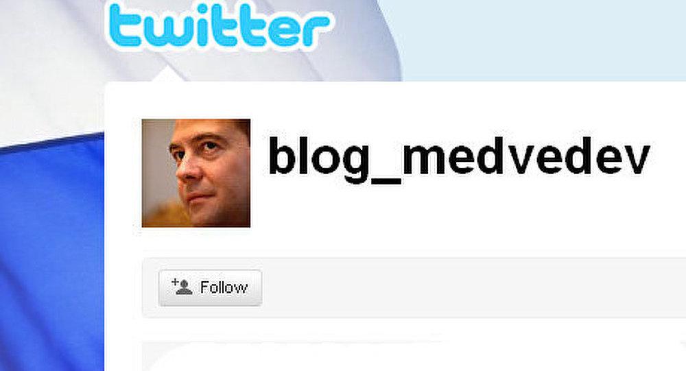 Medvedev poste ses impressions de Jéricho sur Twitter