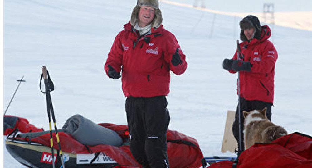 Le prince Harry bloqué dans un camp russe en Arctique
