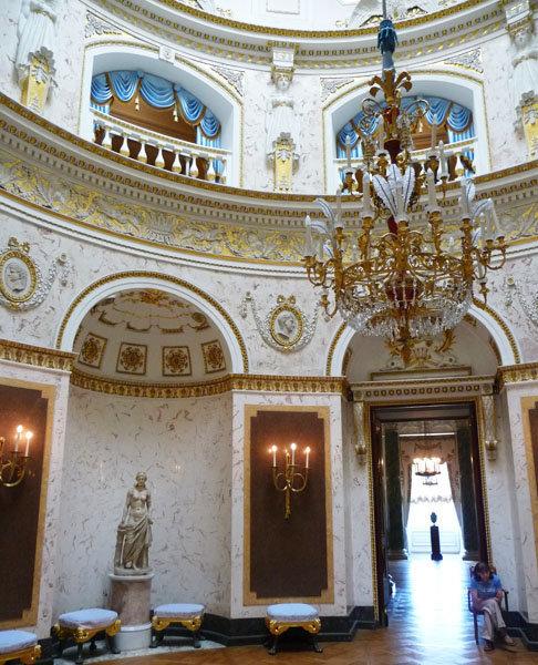 Intérieur du palais.