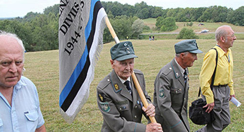 Un rassemblement des ex-waffen SS en Estonie