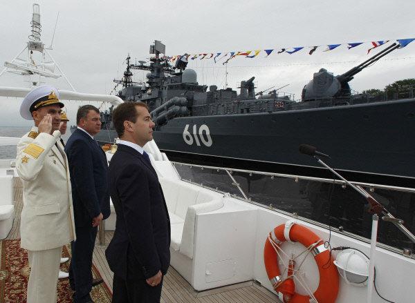 Le dernier dimanche de juillet, la Russie célèbre la Journée de la Marine.
