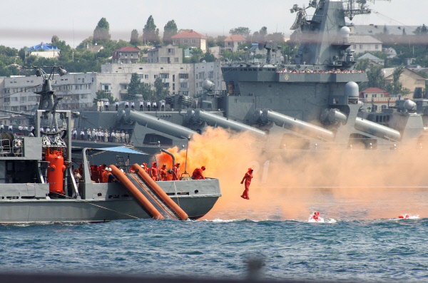 Journée de la Marine russe à Sébastopol.