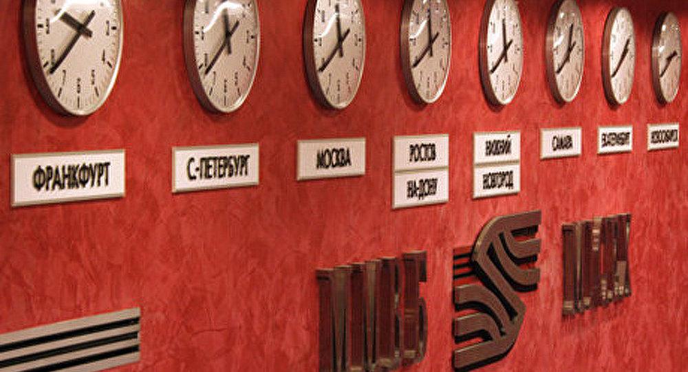Bourse: l'indice russe Micex commence la semaine en fort recul