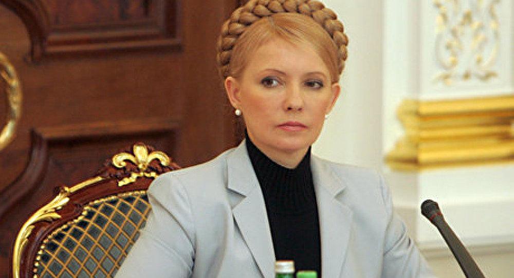 Timochenko remercie la communauté internationale pour son soutien