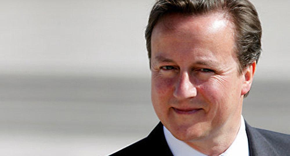 Le premier ministre britannique David Cameron est satisfait de sa visite en Russie