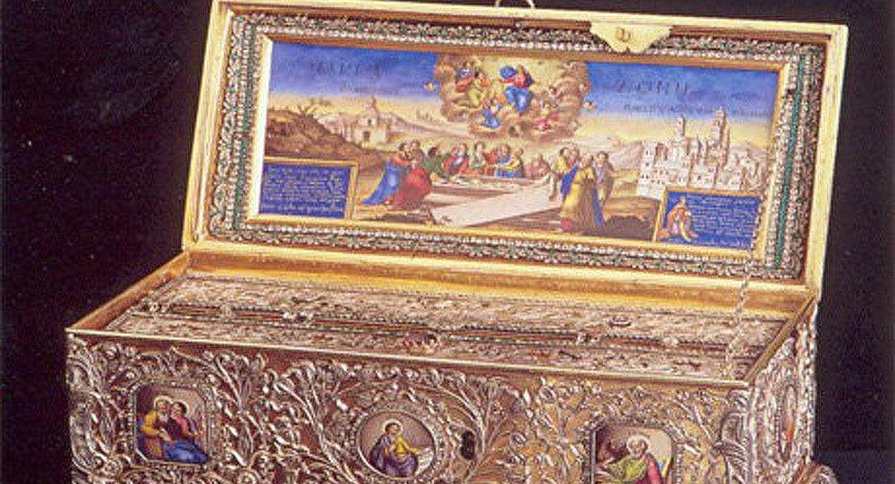 La ceinture de la Vierge Marie sera exposée en Russie