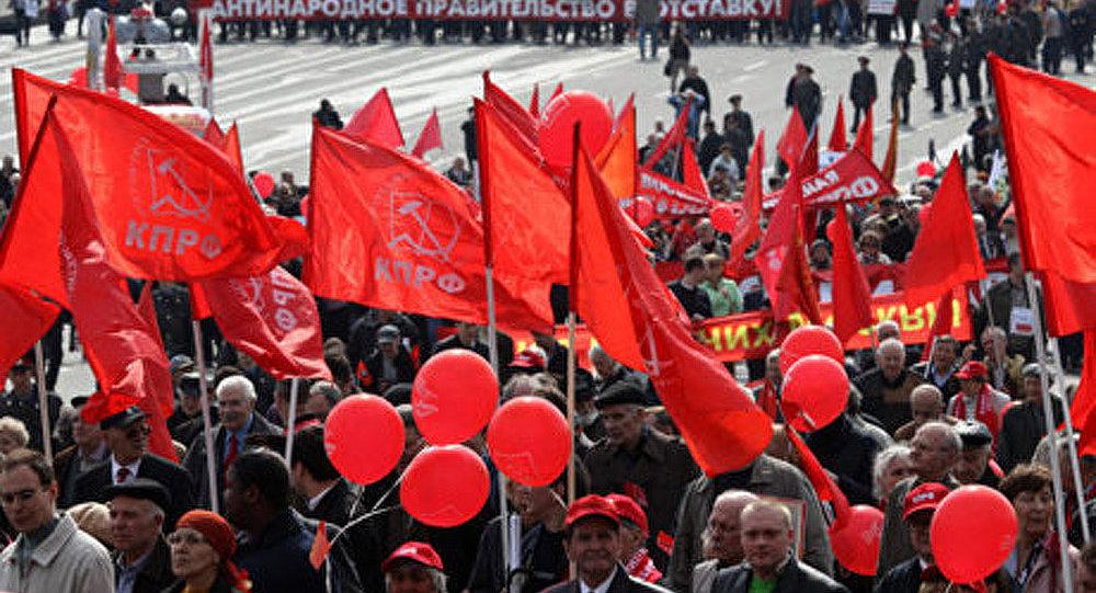 Législatives en Russie: 20% des Russes sympathisants du Parti communiste