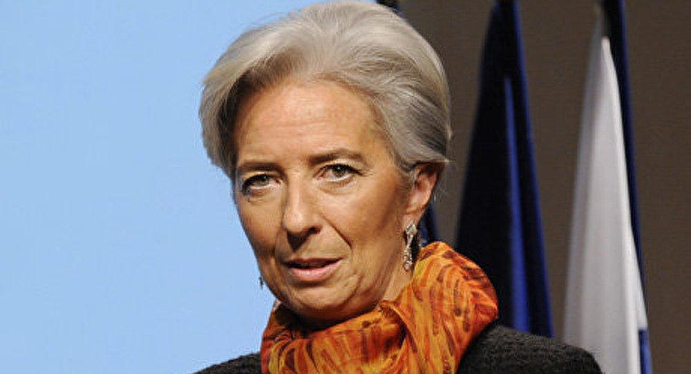 Christine Lagarde entame une visite en Russie
