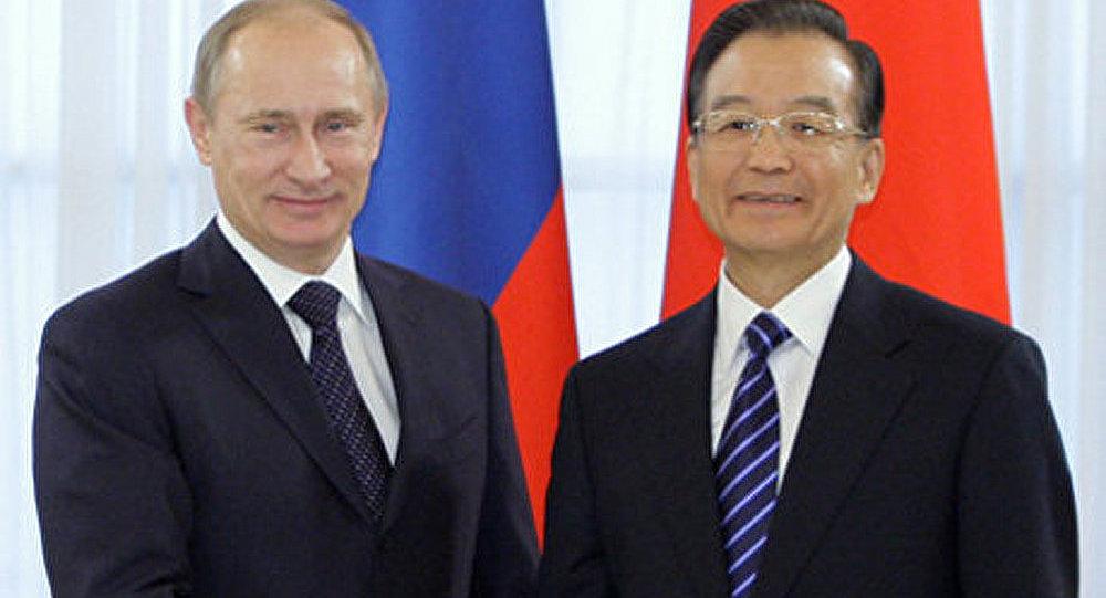 Le premier ministre chinois en visite en Russie