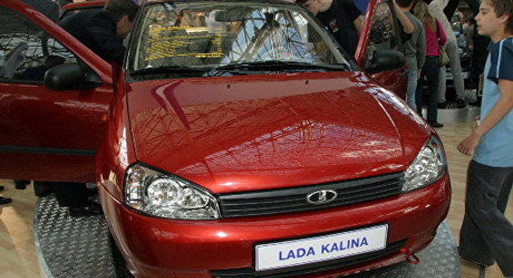 Lada Kalina vendue à Nicaragua