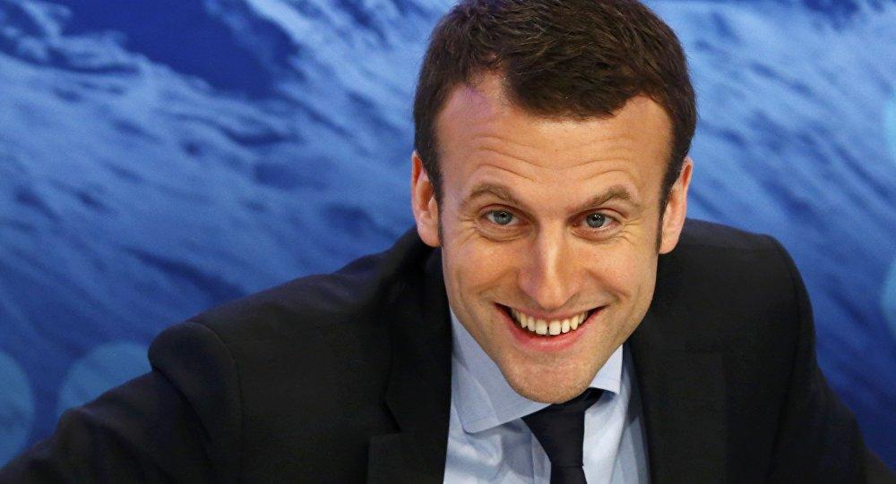 Le ministre de l'Economie français Emmanuel Macron assiste à la réunion annuelle du Forum économique mondial (WEF) à Davos, Suisse le 22 janvier, 2016
