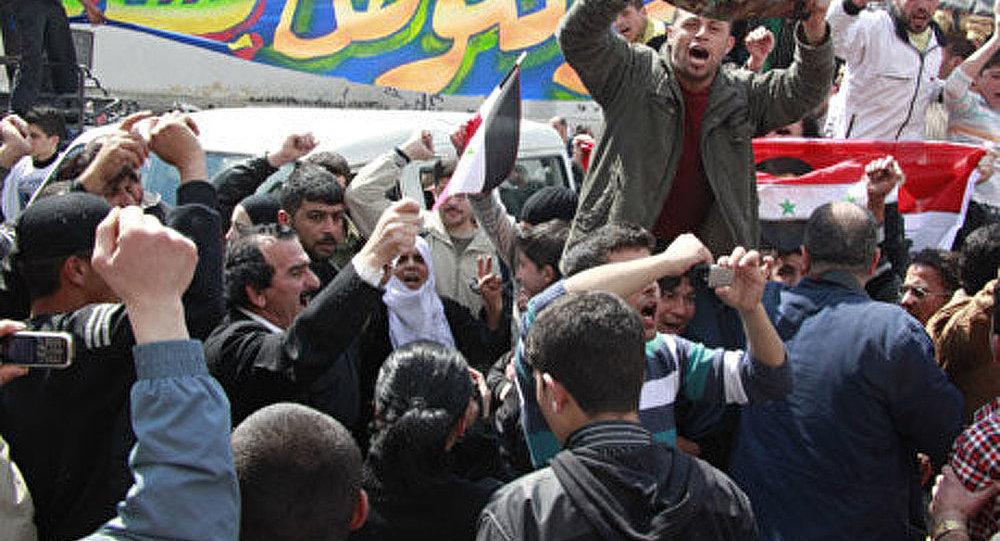 Syrie: démonstrations contre la décision de la Ligue arabe
