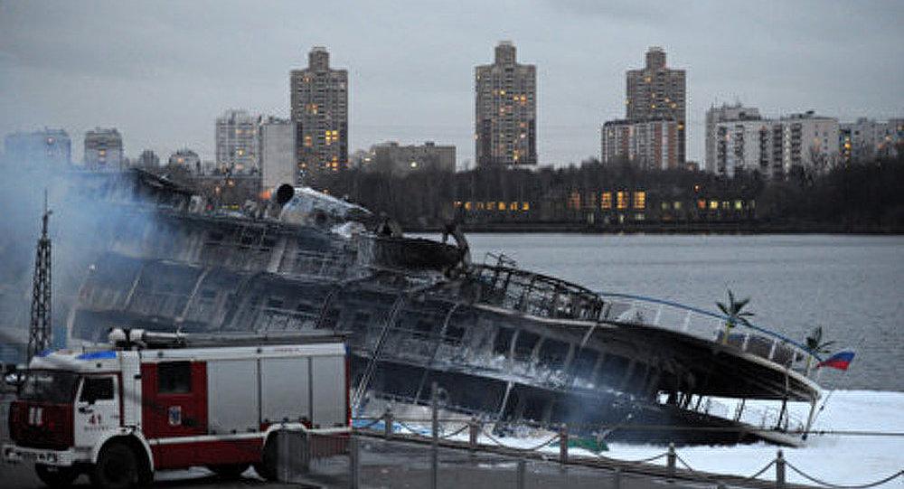 L'incendie au paquebot Sergueï Abramov a été éteint