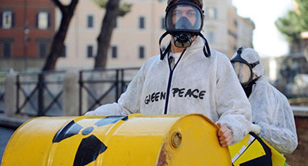 France: protestation contre les déchets radioactifs