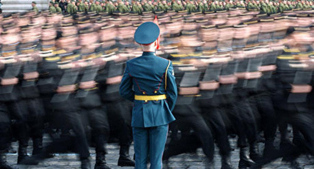 Baisse des effectifs de l'armée russe