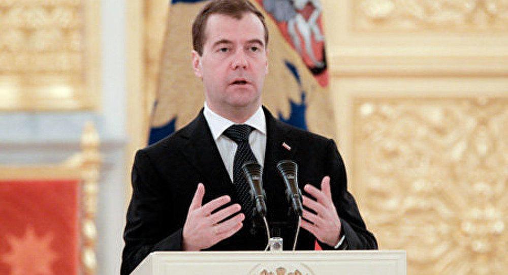 Syrie: autorités doivent arrêter les violences (Medvedev)