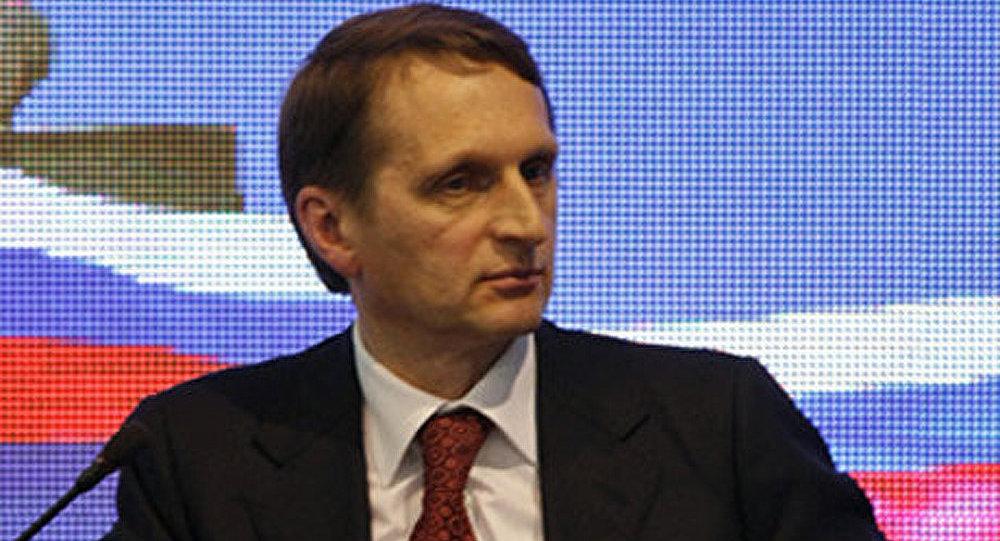 Russie Unie propose Narychkine à la tête de la Douma