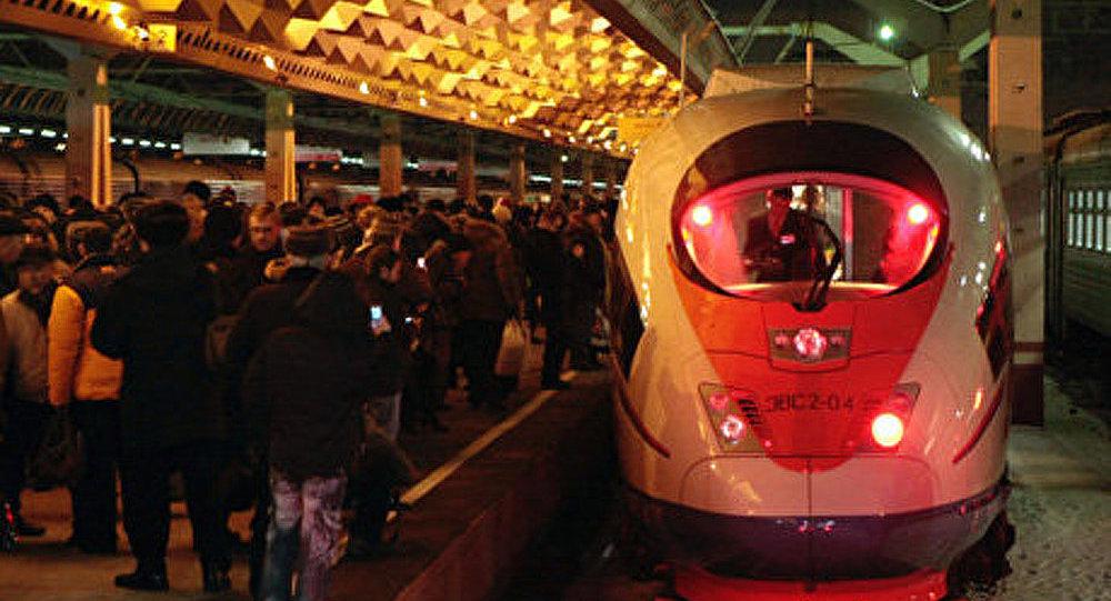 Russie: 5-millions de voyageurs pour le train Sapsan