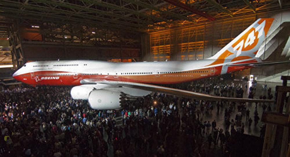 Boeing-747-8 a subi l'épreuve des froids sibériens