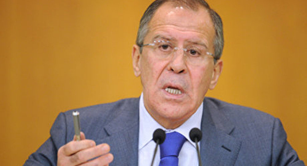 Syrie: pas d'ingérence extérieure (Lavrov)