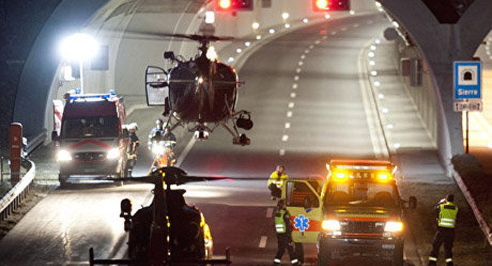 Suisse: un accident d'autobus fait 28 morts