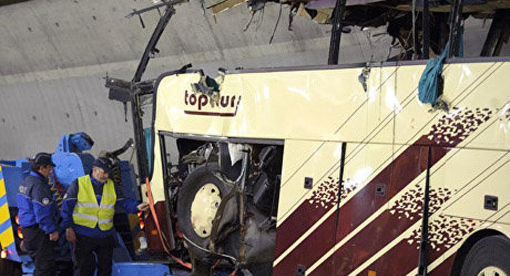 Les proches des enfants du bus accidenté sont arrivés à Genève