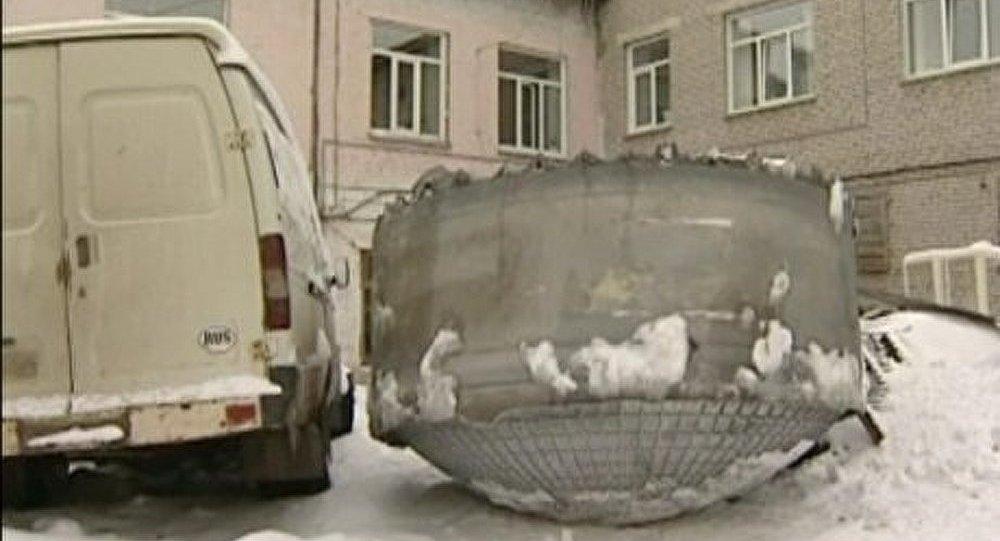 Un objet mystérieux trouvé en Sibérie (Vidéo)