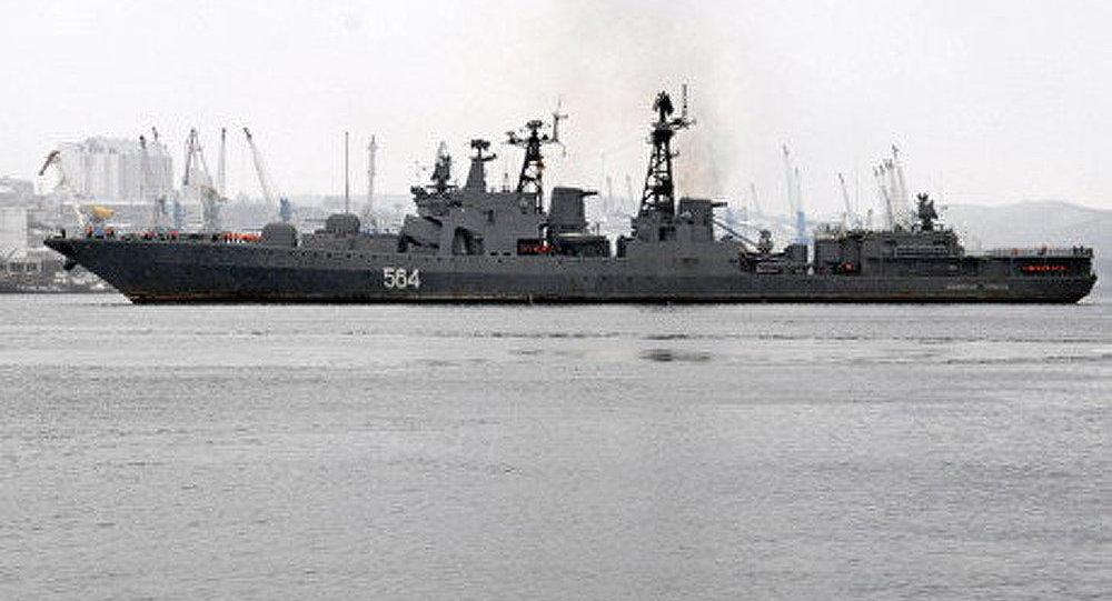 Les navires de la Flotte du Pacifique reviennent à Vladivostok