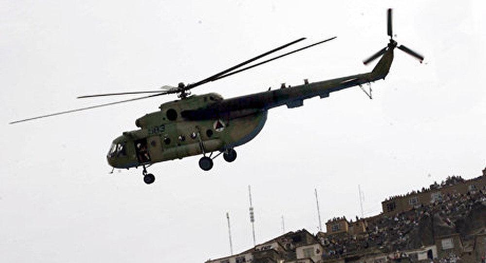 Un hélicoptère de l'OTAN s'est écrasé en Afghanistan