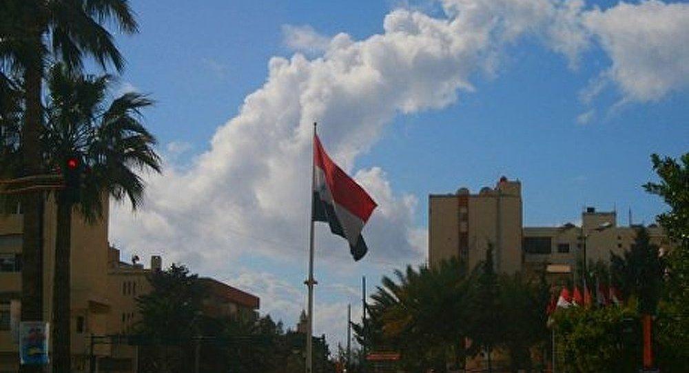 Le ciel dégagé au-dessus de la Syrie…