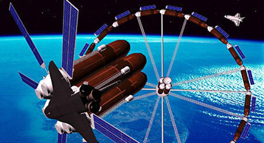 Une femme d'affaire turque a acheté un voyage spatial