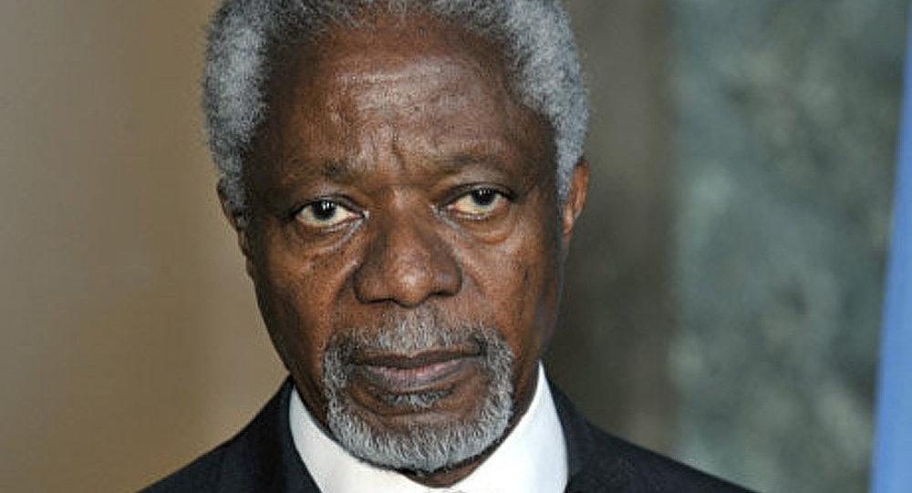 Kofi Annan : la Syrie observe le cessez-le-feu