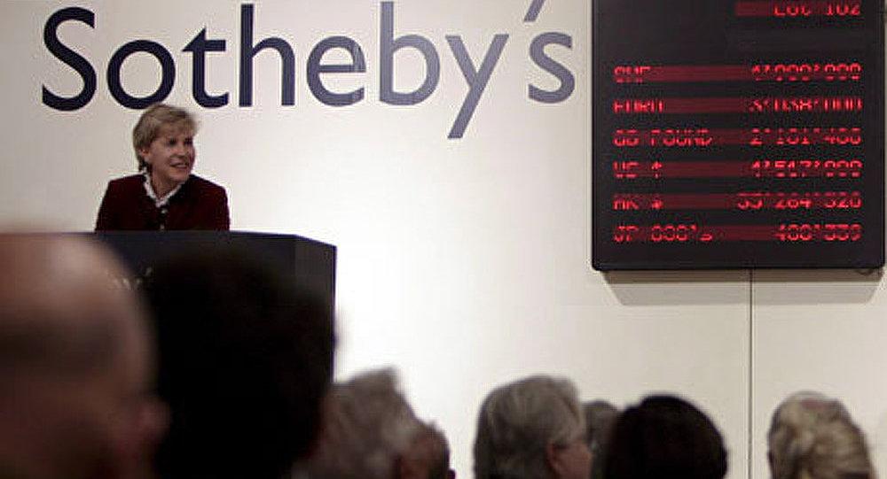 Un tableau d'Aïvazovski établit un record chez Sotheby's