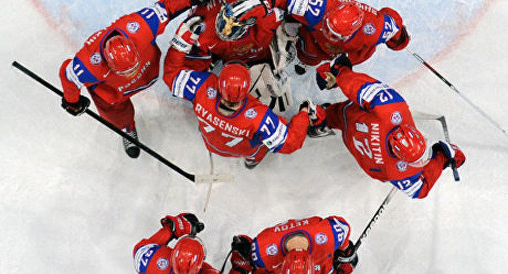 La marche triomphatrice des hockeyeurs russes
