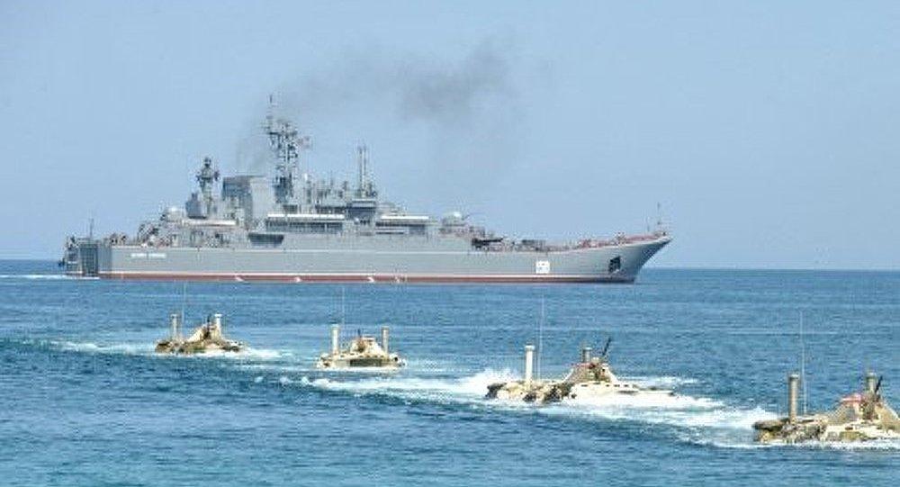 Un nouveau navire de débarquement pour la marine russe