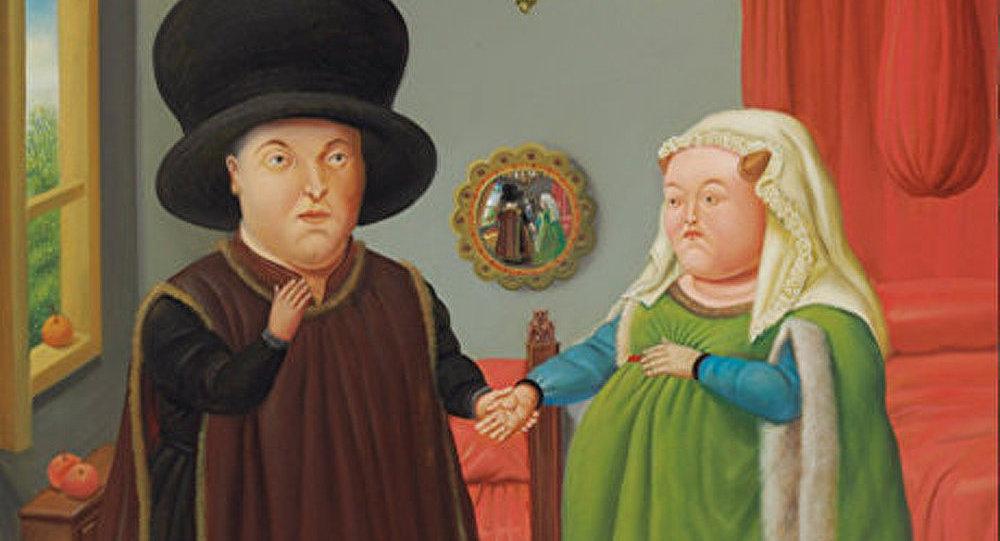« Les époux Arnolfini » de Botero vendus aux enchères pour 842 500 dollars