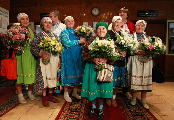 Les Buranovskiye Babushki sont rentrées en Russie