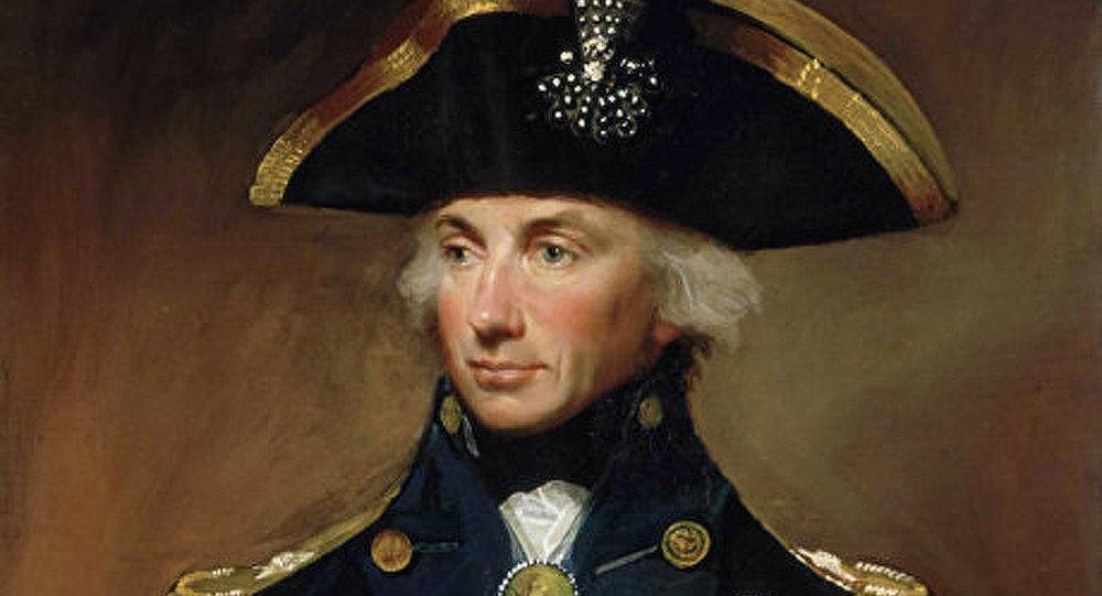L'amiral Horatio Nelson : un rat frit pour le commandant naval